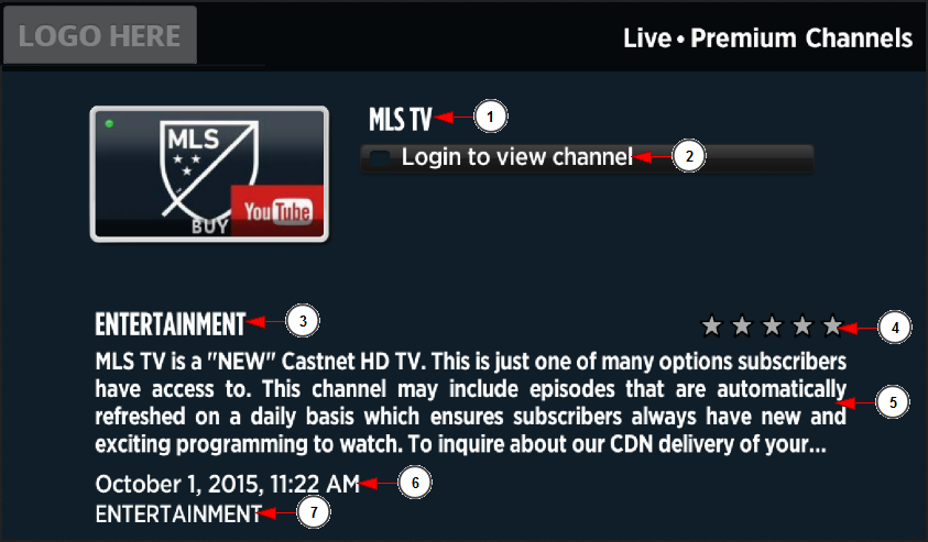 Browse channels on Roku | Live Streaming manual V7